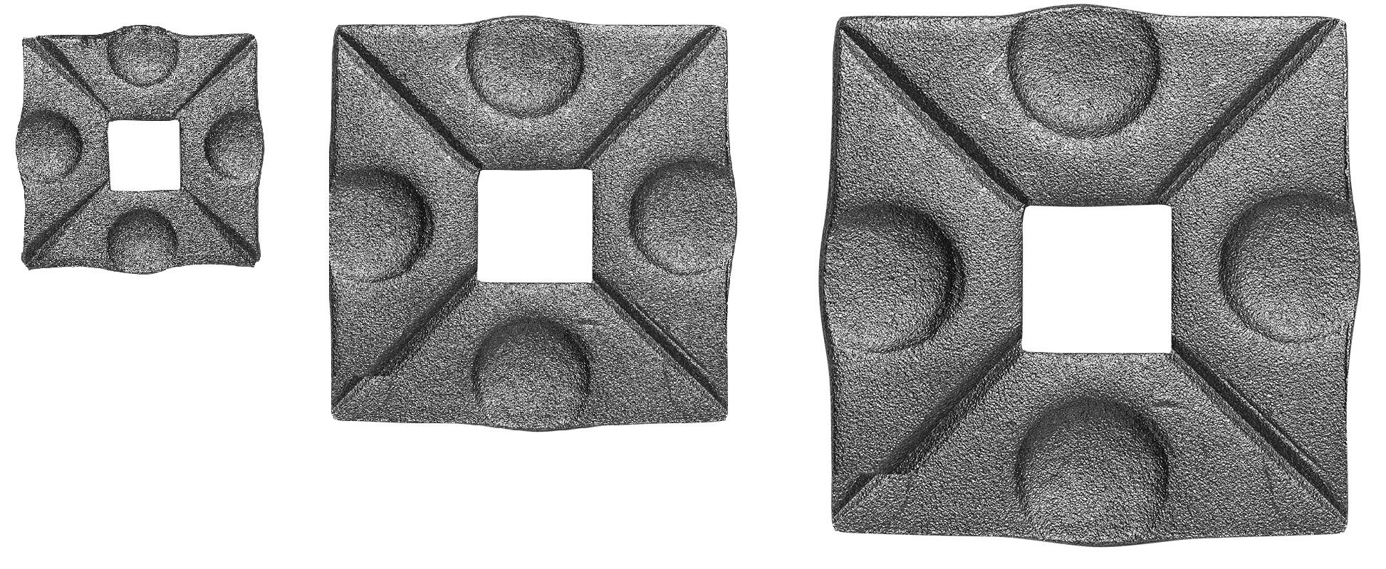 Wandrosette Bodenrosette 12 mm//20 mm//25 mm 50-80mm Blende Abschluss MS.001