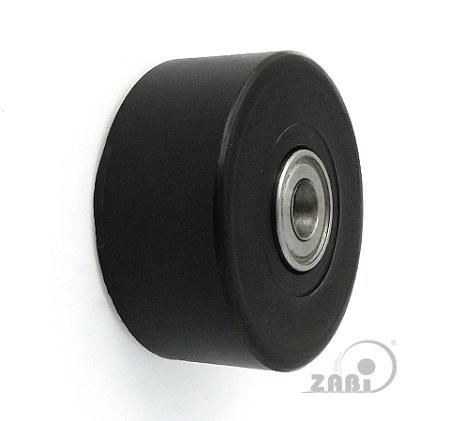 doppelte kunststoff rollen mit kugellager 50mm 8mm ebay. Black Bedroom Furniture Sets. Home Design Ideas